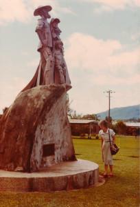 Pioneer Memorial Statue photo taken 1984